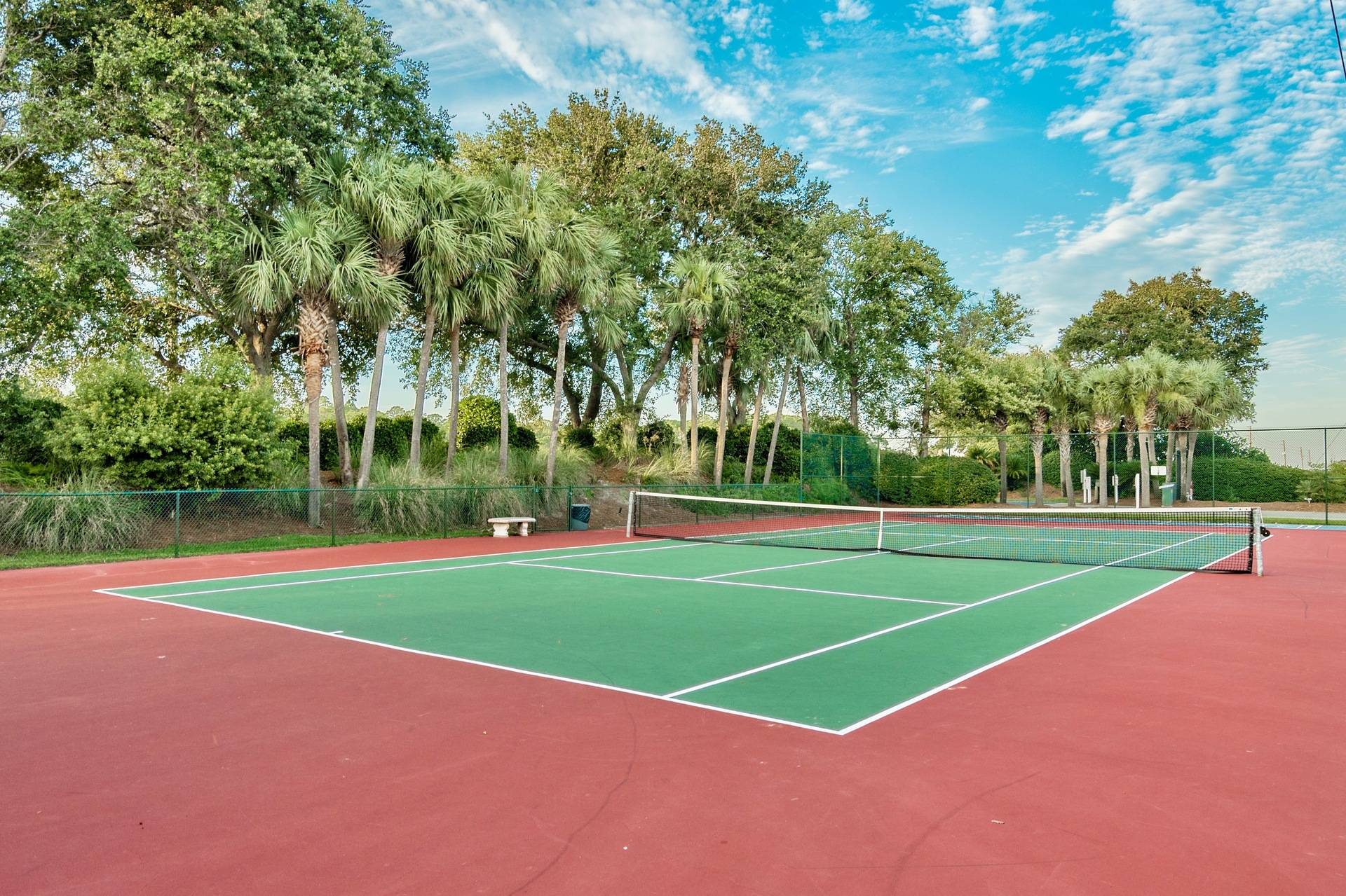 Tennis Court and Shuffleboard
